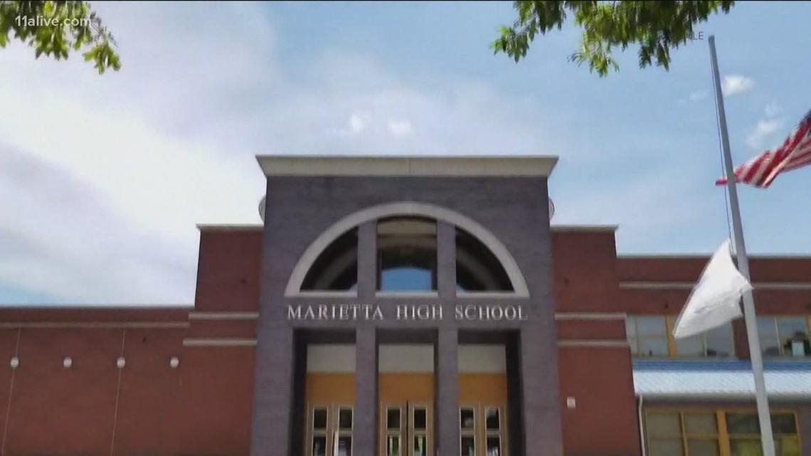 Marietta High School vaccination event happening today