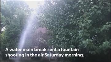 Brookhaven 'geyser' awakens resident