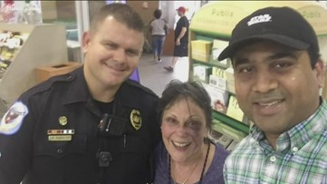Days after 84-year-old punched and robbed, she bravely returned to same Publix
