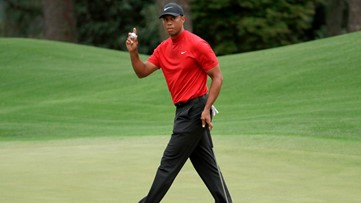Tiger Woods cruises to fifth Masters title