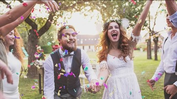 The average American starts thinking of their wedding in their twenties