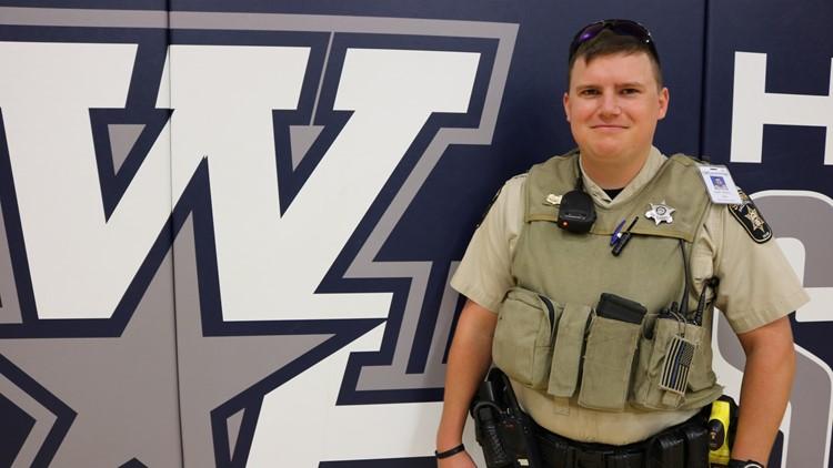 Hall County Deputy Zack Marley