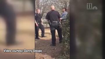 Carrollton officer hits man - Full video