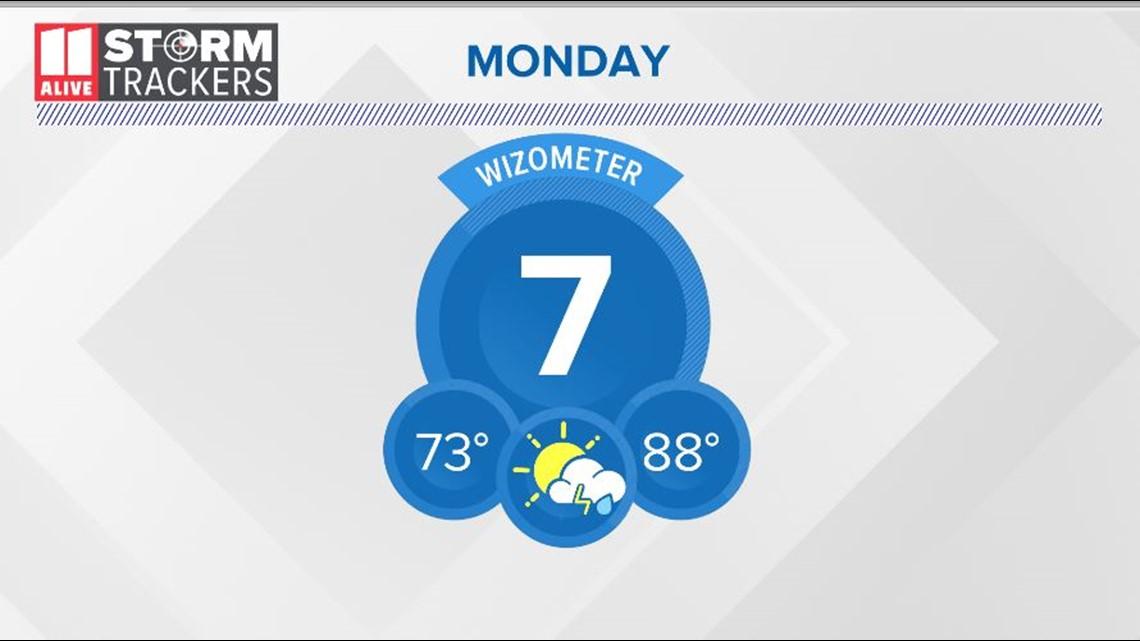 Rain on increase Monday evening into Tuesday