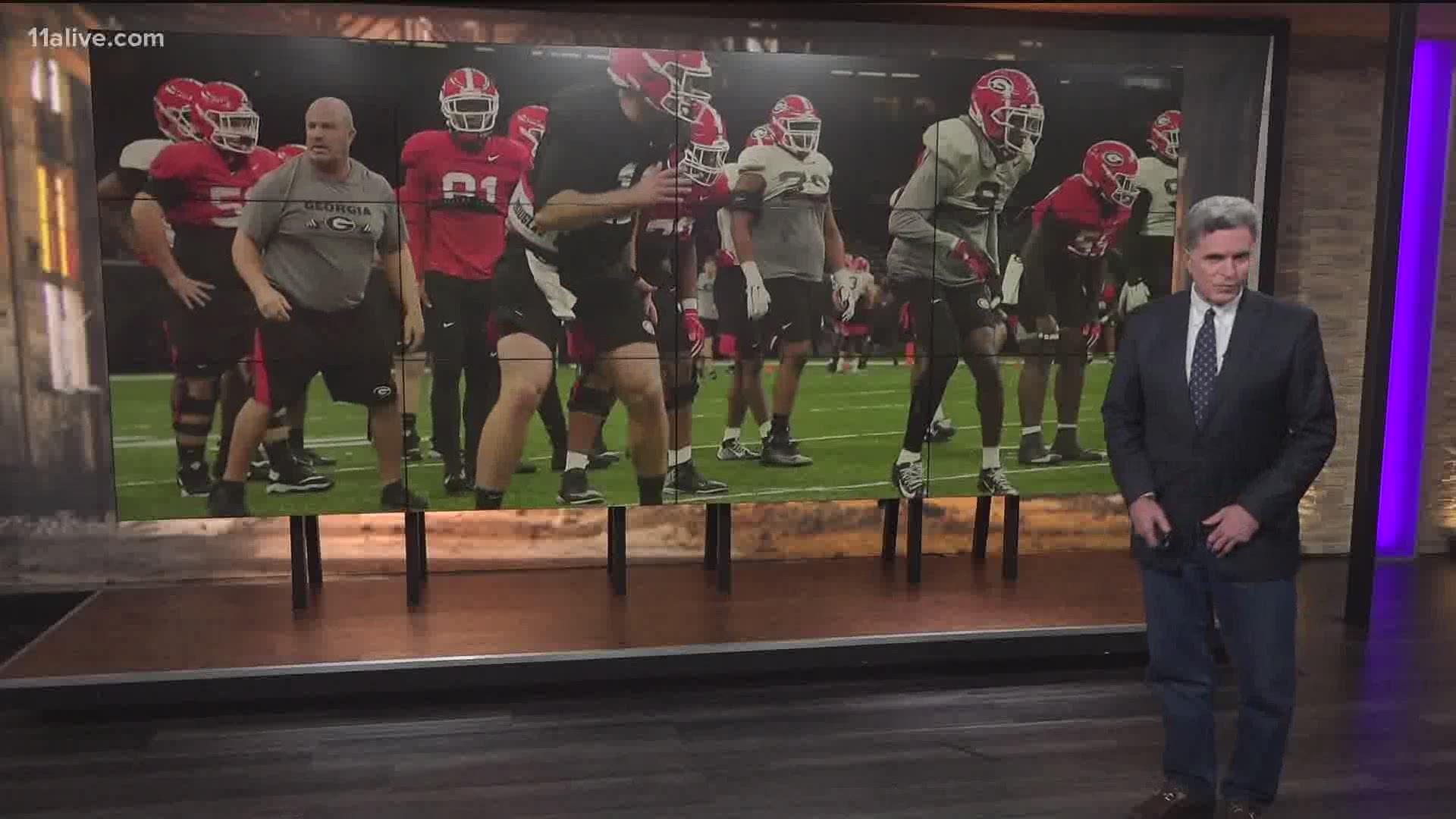 Marlin Dean Recommits To University Of Georgia 11alive Com
