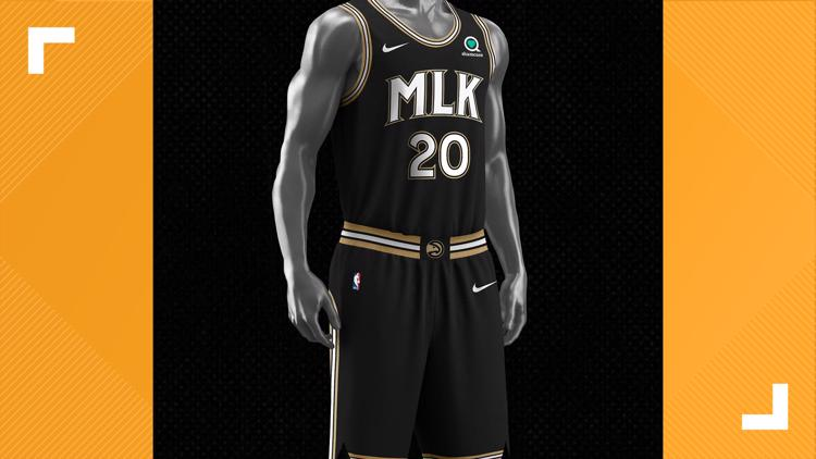 New Atlanta Hawks basketball jersey honors Dr. Martin Luther King