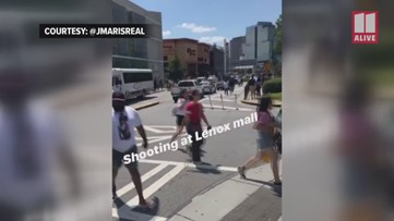 Customers leave Lenox Mall after false report of active shooter