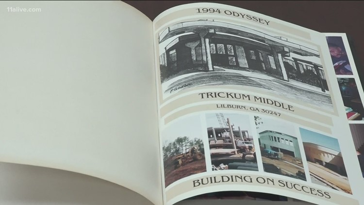 Post office, Gwinnett school find owner of lost yearbook from 90s