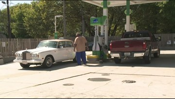 Gas prices gone up 17 cents in the last week