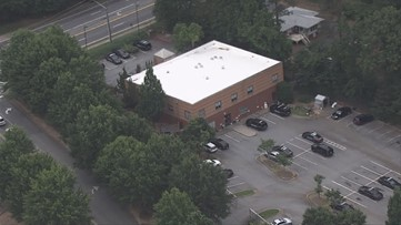 Person walks inside DeKalb police precinct with gunshot wound