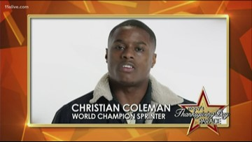 A Thanksgiving memory from Christian Coleman