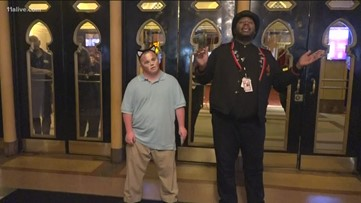 Special needs advocate fulfills 'dream job' with Cats at the Fox Theatre