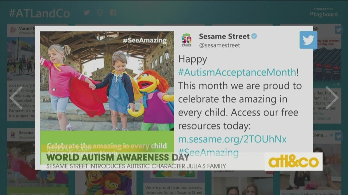 Sesame Street and Autism Awareness Month