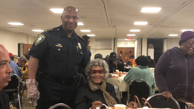 East Point Police Chief, Tommy Gardner with former East Point Mayor, Patsy Jo Hillard