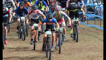 Georgia students compete for Mountain Bike State Championship