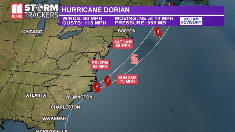 Hurricane Dorian: Spaghetti models, tracking maps and more