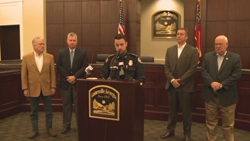 RAW: Gainesville Police Chief announces arrest in murder of businessman at CVS Pharmacy