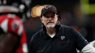 Citing turnaround, Falcons say they'll keep coach Quinn and GM Dimitroff for 2020 season