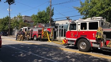 Castleberry Hill restaurant fire spreads next door