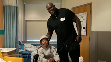 Take a look inside of the home Shaq gifted to the family of a 12-year-old boy who was shot and paralyzed