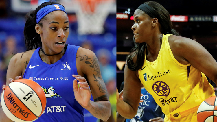 Two Atlanta Dream players sidelined by COVID-19 for season opener
