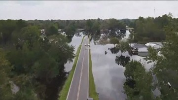 Florence aftermath: Waters in North Carolina just beginning to recede