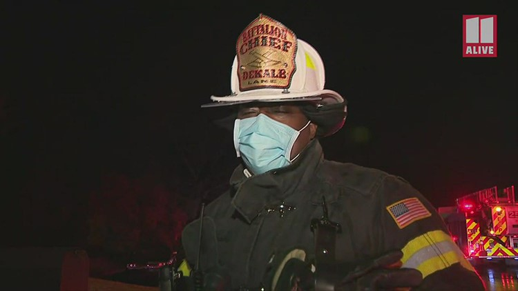 DeKalb Battalion Chief gives update on fire severely burned resident