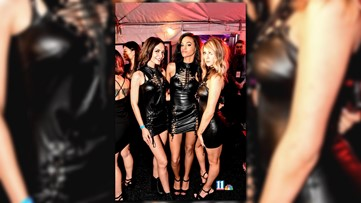 Leather & Lace with Victoria's Secret Models at Believe Music Hall in Atlanta