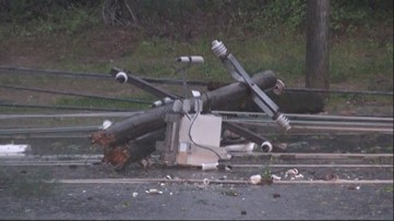 Johns Creek hit by brief tornado on Friday, NWS confirms
