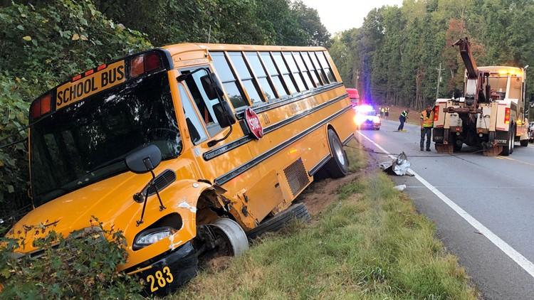 School Bus Wreck Cherokee