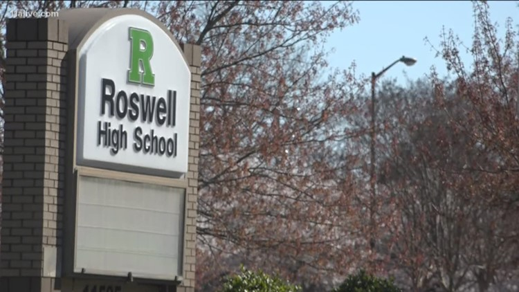 Vandals damage band field at Roswell High School