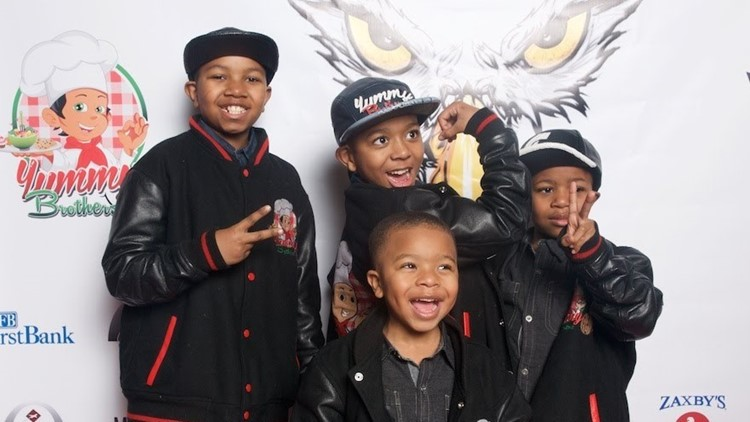 Four brothers, all under age 11, start their own cookie empire