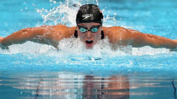 Georgia's Hali Flickinger takes home another medal after Women's 200m butterfly final