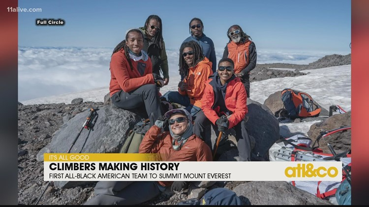 First All-Black American Team to Summit Mount Everest