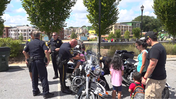 Lawrenceville kids, families learn about safety from community first responders
