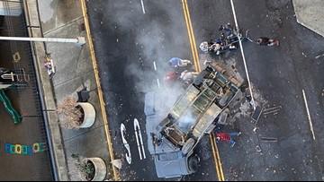 'The Tomorrow War' films battle scene in downtown Atlanta