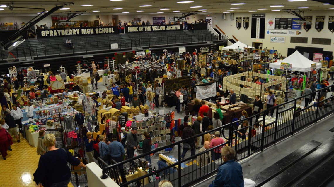 Craft show draws thousands for Cobb County high school