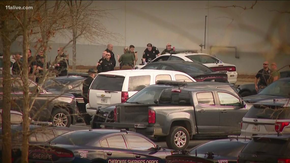 Standoff in Cherokee County shuts down highway