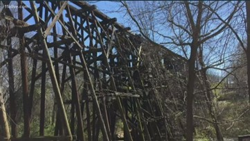 Commissioners trying to decide on renovation plans for 'Murmur Trestle'