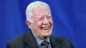 President Jimmy Carter receives tenure at Emory University