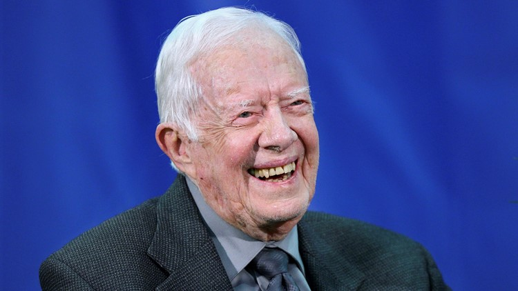 Former President Jimmy Carter honored with statesmanship award