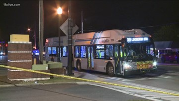 Man dies after falling under wheel of moving MARTA bus