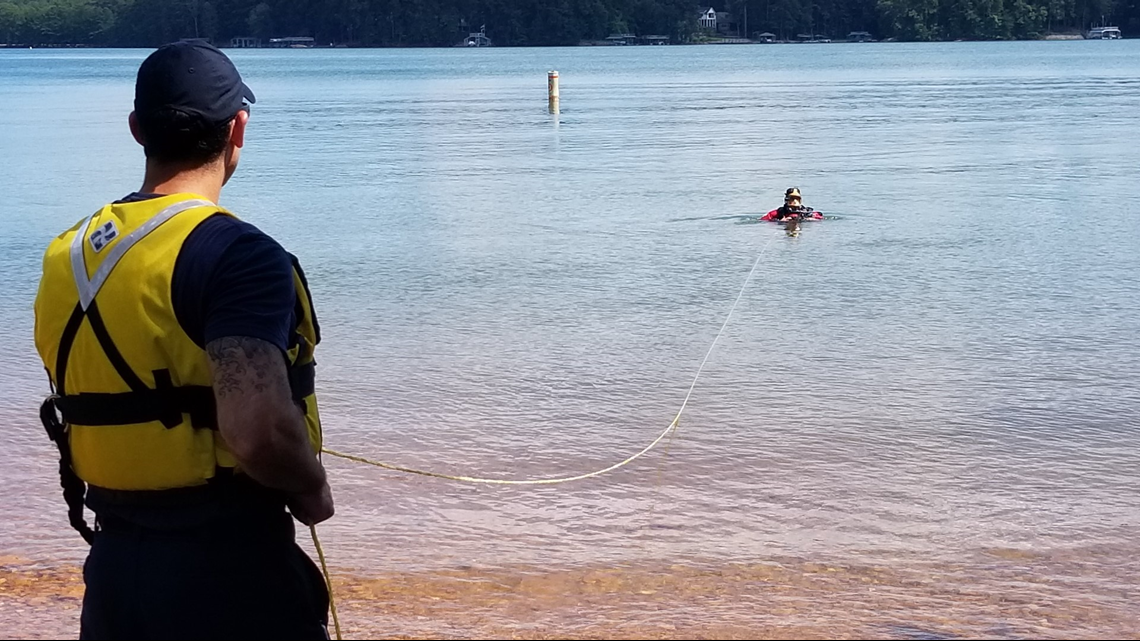 'Diving in Lake Lanier probably is one of the most dangerous things I've done'