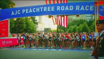 2018 AJC Peachtree Road Race: Start To Finish - Full Special