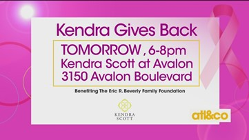Kendra Gives Back