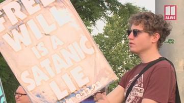 Westboro Baptist Church protests Morehouse, Spelman and Clark Atlanta graduation ceremonies