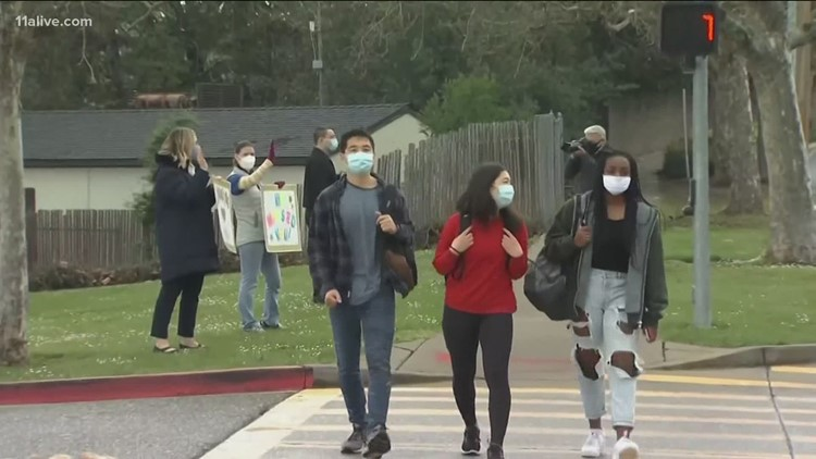 Atlanta area school systems waiting on guidance from state before making vaccines mandatory