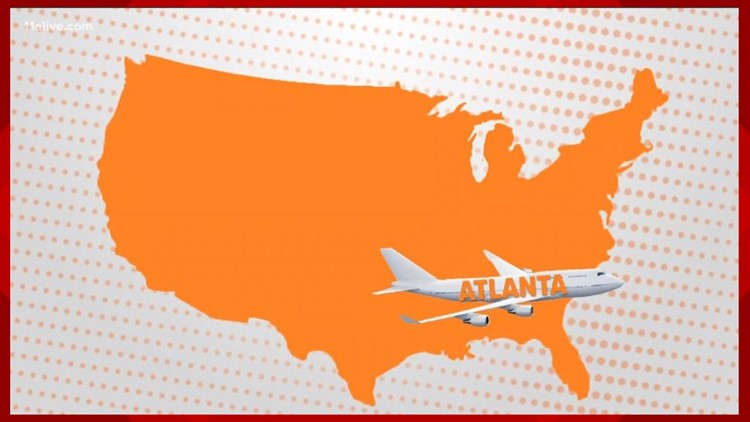 Why Atlanta's airport is the busiest airport in the world