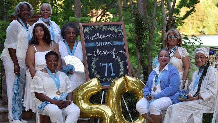 Spelman's Class of '71 marks milestone with heartwarming celebration