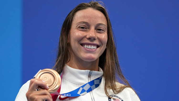 Georgia athletes win silver, bronze medals in Tokyo Olympics swimming events
